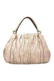 Waves Tote Bag Leather Calf