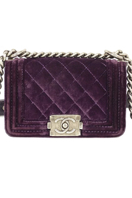 Chanel Boy Velvet Mini