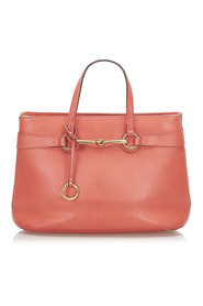 Pre-owned Bright Bit Leather Satchel