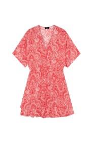 Fake wrap mini dress intense - 2105313171-500
