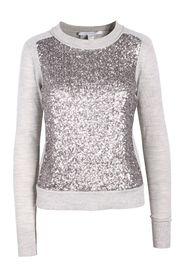 Knit With Sequins On The Top