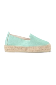 Los Angeles leather espadrilles