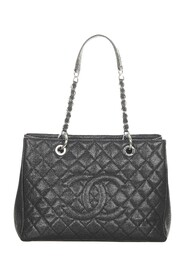 Caviar Grand Shopping Tote Bag Leather