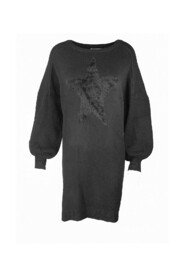 Oversize knit with star blouse