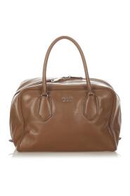 Pre-owned Vitello Daino Handbag