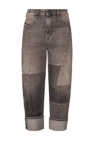 D-Reggy jeans with stitching details