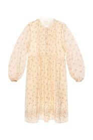 Puff hylsan klänning