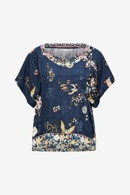 Odd Molly, Paradise Groove s/s blouse, Blus, Marin