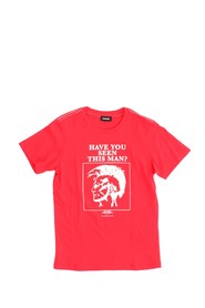 DIESEL TRUE 00J3T4 00YI9 T SHIRT AND TANK Unisex Boys RED