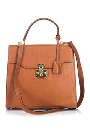 Leather Kelly Satchel