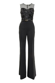 Suit with Tulle