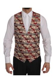 Jacquard Slim Fit Vest