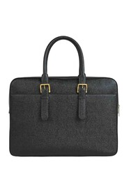 Grainy Leather Briefcase