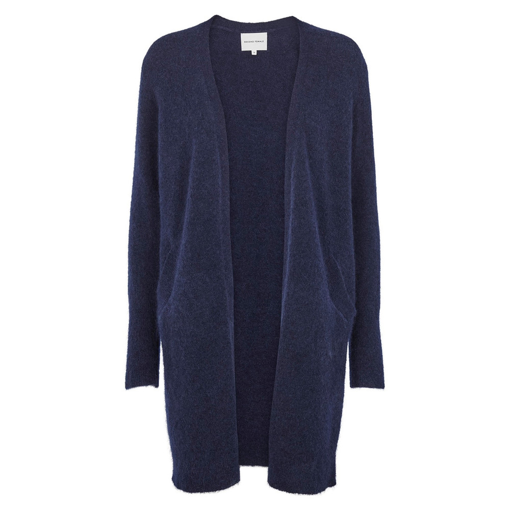 Brook strik cardigan