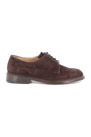 ROBERT PLAIN DERBY CASTORINO SUEDE SHOES