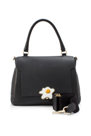 Small Egg Bathurst Calf Leather Satchel