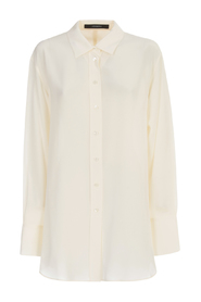 BROOKS CREPE DE SOIE SHIRT