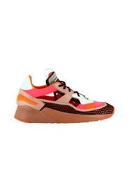 Multi neon perforated trainers - Bump Yoga