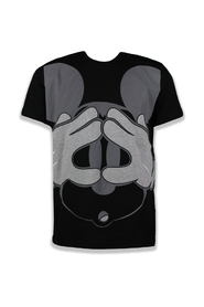 T-shirt avec grand Mickey Mouse