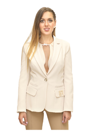 Jacket with button