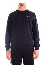 SUN 68 F29140 Sweat Men BLUE NAVY