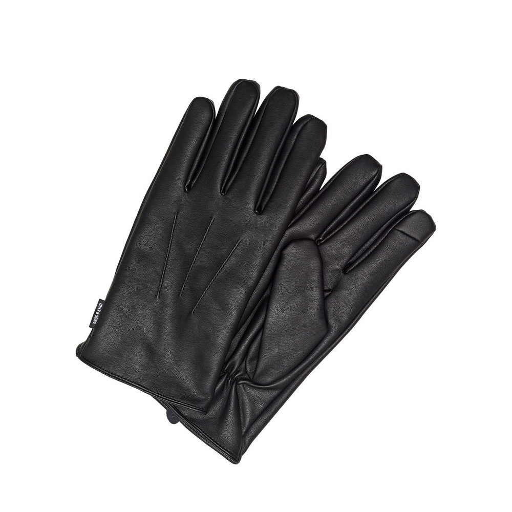 Gloves Leather look