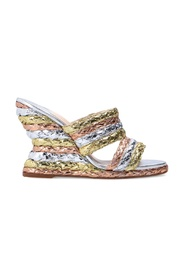 Ines wedge mules