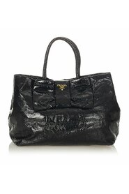 Pre-owned Bow Patent Leather Handbag Bag