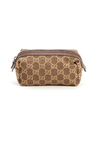 Monogram clutch bag