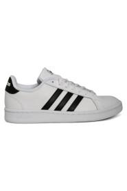 Hvit Adidas Grand Court Sneakers, Bn 2191