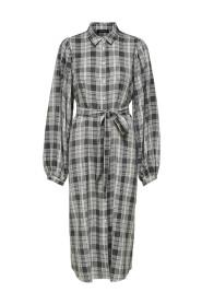 Leslie-Nanna midi shirt dress