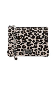 Number small leopard pouch