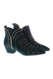Boot Stitch Suede boots
