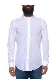 Lamberto shirt with guru collar