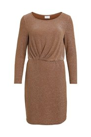 Mini dress Pleated glittery