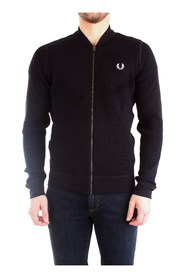 FRED PERRY K7521 JERSEY Men BLACK