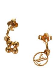 Begagnade Blooming Earrings Metal Messing