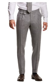 TROUSERS-Jason Flannel Suit Trouser