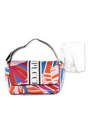 abstract print changing bag