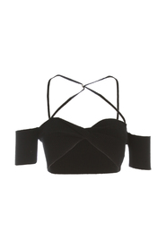 TOP WITH CROSSED STRAPS