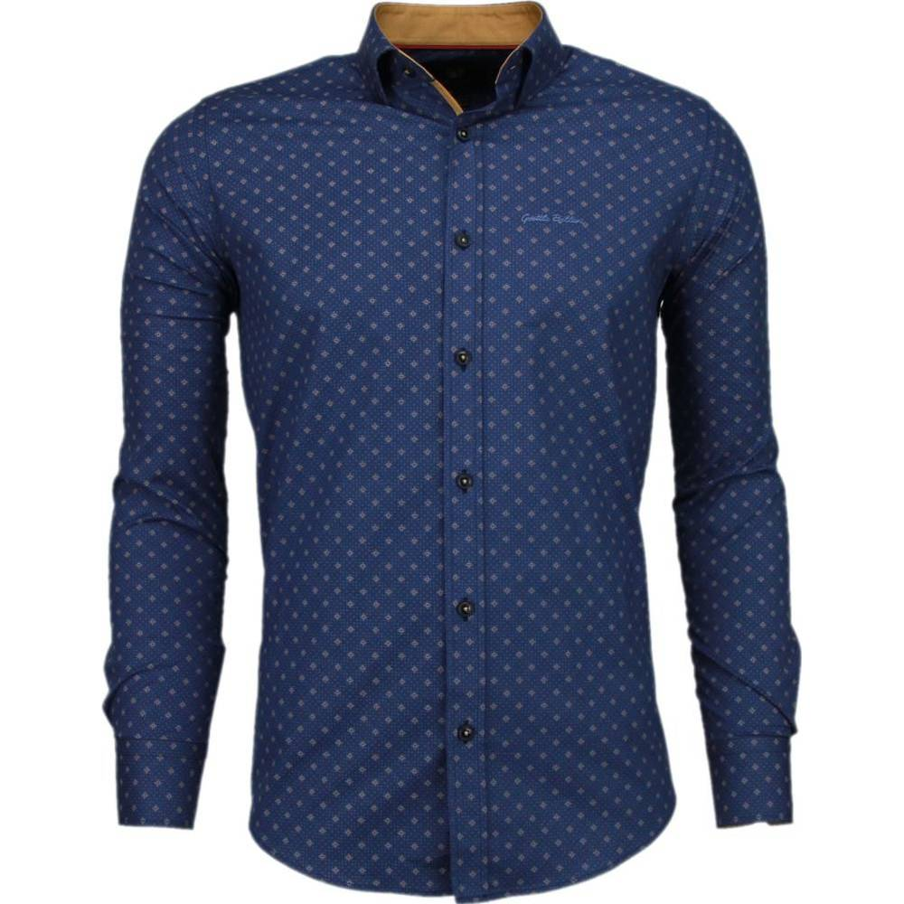 Slim Fit Shirt Lysende stjerner