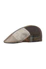 Country patch sixpence hat