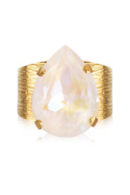 Classic Drop Ring Gold Light delite