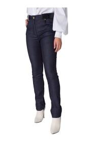 Jeans con dettagli in stampa cocco