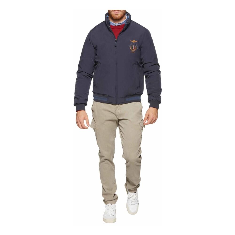 Gray Dedicated padded jacket | Aeronautica Militare | Hoodies  sweatvesten | Heren winter kleren