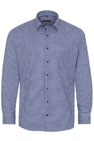 CHECKED TWILL SHIRT - MODERN FIT