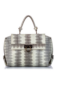 Python Leather Sofia Handbag