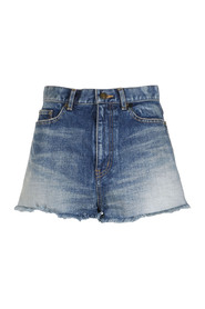 HÖG MIDJA DENIM SHORTS