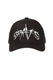 Baseball cap with lettering
