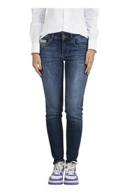 Jeans Skinny Con Strass